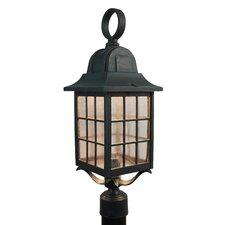 Kiss Series 1 Light Post Lantern