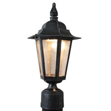 "<strong>Melissa Lighting</strong> Kiss Series 1 Light 12"" Outdoor Post Lantern"