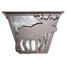 Americana Moose Series Flush Mount