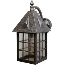 Kiss Series 1 Light Outdoor/Indoor Wall Lantern