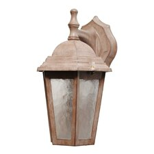 <strong>Melissa Lighting</strong> Kiss Series 1 Light Outdoor Wall Lantern