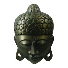 <strong>Global Pickings</strong> Natural Home Decor Serenity Buddha Bust