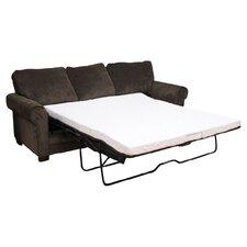 """Cool Gel 4.5"""" Gel Memory Foam Sofa Bed Mattress"""