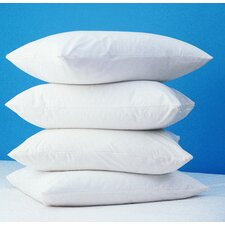 Unbleached Natural Cotton T-200 Zippered Pillow Cover