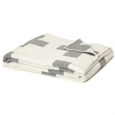 Eco Designer Swiss Army Cross Reversible Throw Blanket