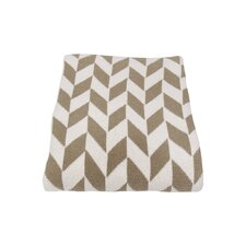 Eco Chevron Throw Blanket