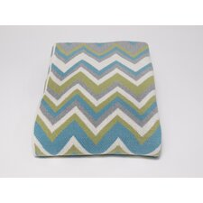 <strong>In2Green</strong> Eco ZigZag Throw Blanket