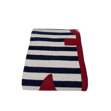 Eco French Stripe Cotton Yarn Throw