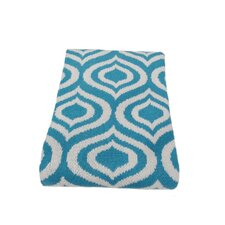 Eco Royal Cotton Yarn Throw