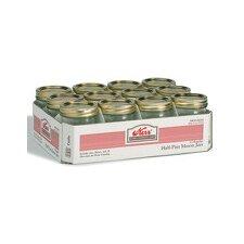 1-Quart Regular Mouth Canning Jar (Set of 12)