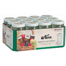 12 Oz Decorative Jelly Jar