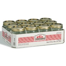Regular Mouth Canning Jar (Set of 12)
