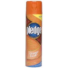 Orange Pledge Cleaning Wax