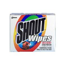 Shout Pre Moistened Cleaning Wipes