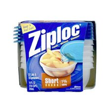 14 Oz Ziploc Short Round Container (Set of 5)