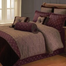 Opulent Paisley Comforter Set