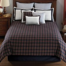 Dover Plaid Comforter Set