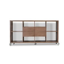 "Malta 34.5"" Bookcase with Drawers"