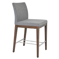 "Aria 24"" Wood Counter Stool"