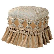 Savannah Ruffle Skirt Ottoman