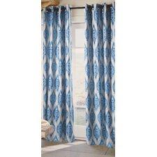 Ikat Single Curtain Panel