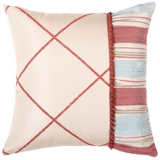 Cornelia Synthetic Pillow with Braid and Tassel