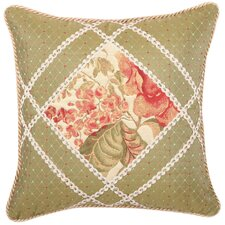 Brianza Synthetic Pillow with Cord and Braid