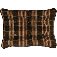 Woodland Synthetic Pillow with Self Cord and Self Buttons