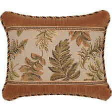 Woodland Synthetic Pillow with Braid and Cord