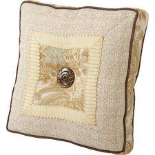 <strong>Jennifer Taylor</strong> St. Lucia Synthetic Pillow with Wide Braid