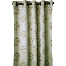 Fortune Curtain Single Panel
