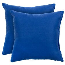<strong>Greendale Home Fashions</strong> Outdoor Polyester Accent Pillows (Set of 2)