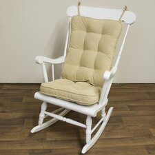 <strong>Greendale Home Fashions</strong> Standard Hyatt Rocking Chair Cushion Set