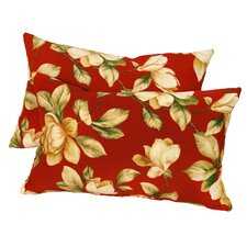 <strong>Greendale Home Fashions</strong> Rectangular Outdoor Polyester Accent Pillows (Set of 2)