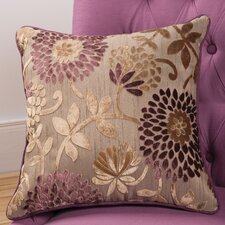 Daphne Decorative Pillow with Self Cord in Purple