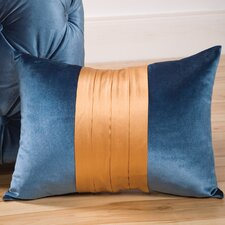Fusion Decorative Pillow with Wide Braid & Coconut Button