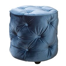 Fusion Tufted Cylinder Ottoman