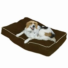 Buster Pillow Dog Bed in Cocoa