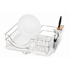 System Dish Rack in Brushed Stainless Steel