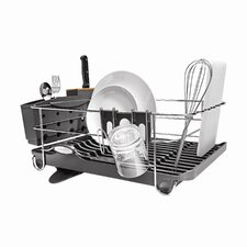 Wave Frame Dish Rack in Grey