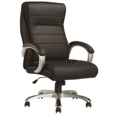 Modrest Tenacity Modern High-Back Leather Office Chair