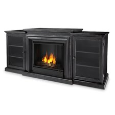 <strong>Real Flame</strong> Frederick Entertainment Center Gel Fuel Fireplace