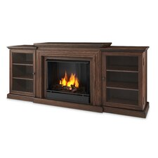 Frederick Entertainment Center Gel Fuel Fireplace