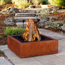 Agave Burning Fire Pit