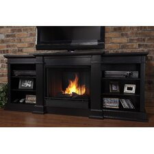"Fresno 72"" TV Stand with Gel Fuel Fireplace"