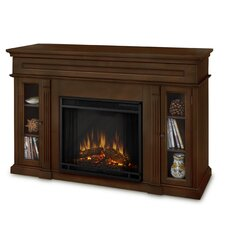 "Lannon 51"" TV Stand with Electric Fireplace"