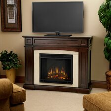 "<strong>Real Flame</strong> Rutherford 47"" TV Stand with Electric Fireplace"