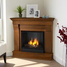 <strong>Real Flame</strong> Chateau Corner Gel Fuel Fireplace