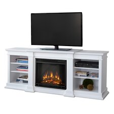 "Fresno 72"" TV Stand with Electric Fireplace"