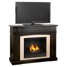 "Rutherford 47"" Ventless TV Stand with Gel Fuel Fireplace"